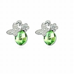 Wholesale Crystal Earrings, fashion earrings, Austrian crystal earring