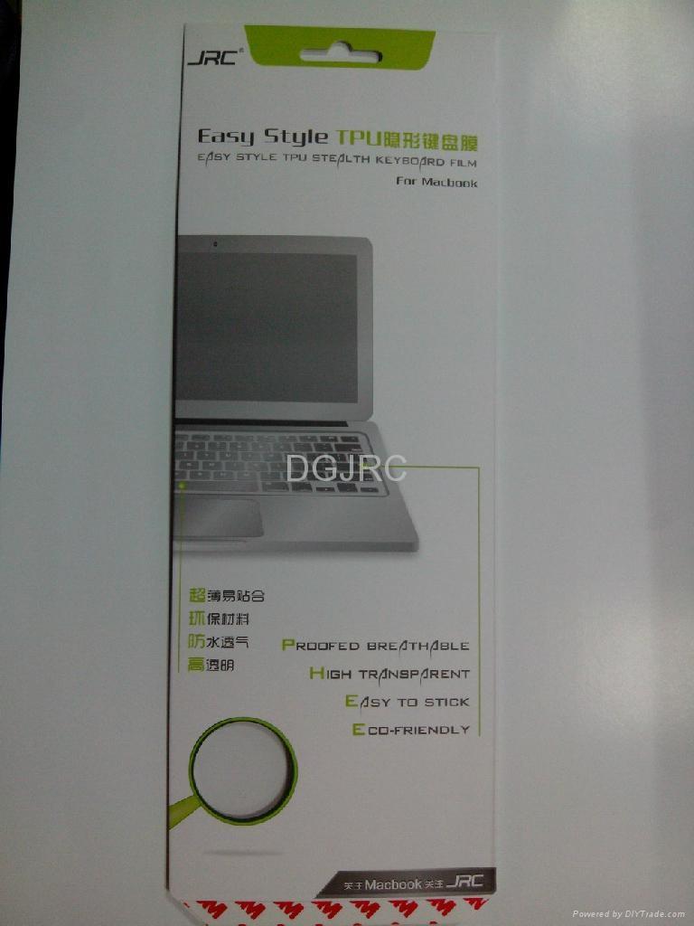 JRC超轻薄TPU键盘保护膜 4