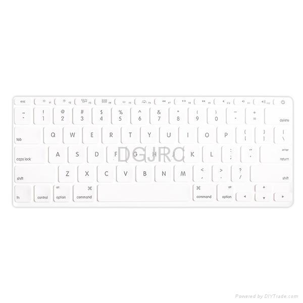 JRC紫色炫彩硅胶键盘膜 2
