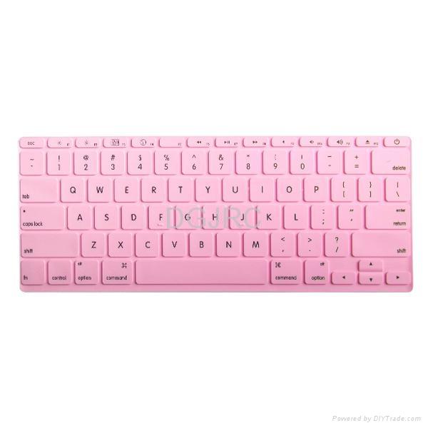 JRC紫色炫彩硅胶键盘膜 3