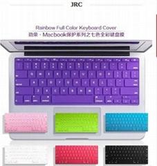 JRC炫彩硅胶键盘膜