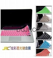 JRC高品质专利带通风设计硅胶键盘膜