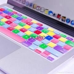 JRC七彩硅胶键盘膜