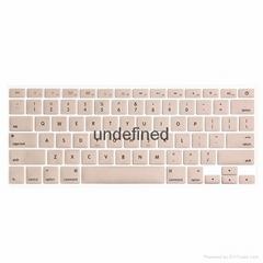 筆記本炫彩淡色鍵盤保護膜
