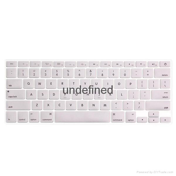 笔记本炫彩淡色键盘保护膜 3
