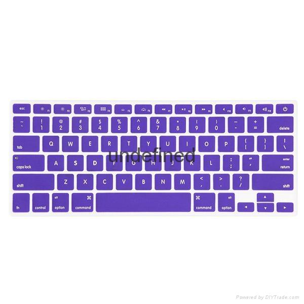 笔记本炫彩淡色键盘保护膜 5