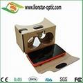 google cardboard virtual reality glasses