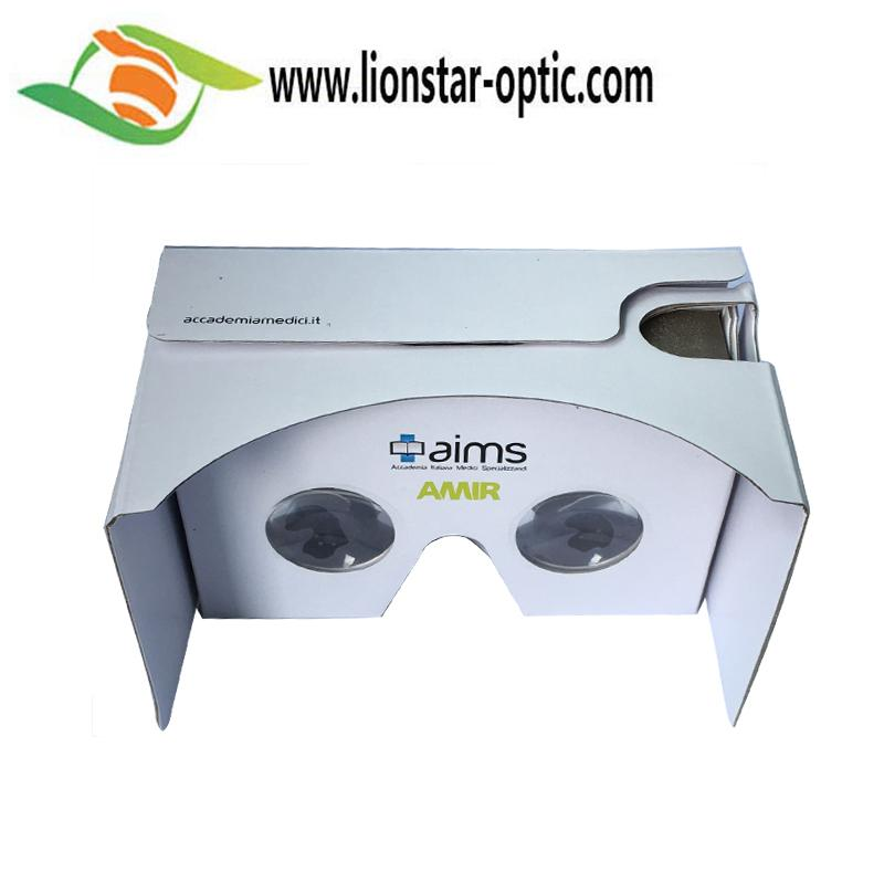 Google cardboard virtual reality glasses with custom design  1