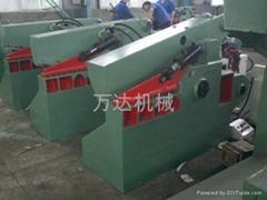 鱷魚式剪切機