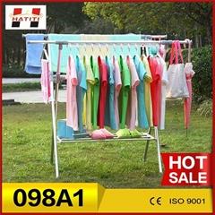 Multipurpose towel clothes hanger