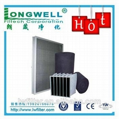 activated carbon air filter  pleated frame activated carbon filters  activated c
