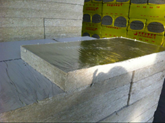 Rockwool Boards Pasted With Aluminum Foil