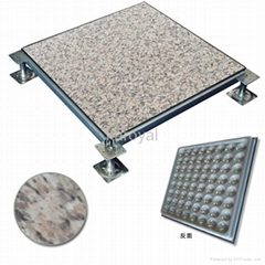 Steel Access Flooring System with PVC Finish