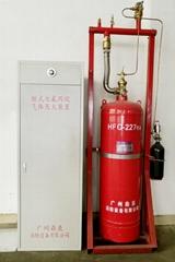 已獲3C認証的櫃式七氟丙烷氣體滅火裝置