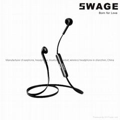 S6 Hotselling Fashion sport in-ear bluetooth headphone Wireless earphone