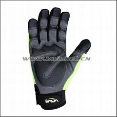 Lava Hi-Vis Impact Resistant Mechanic Gloves