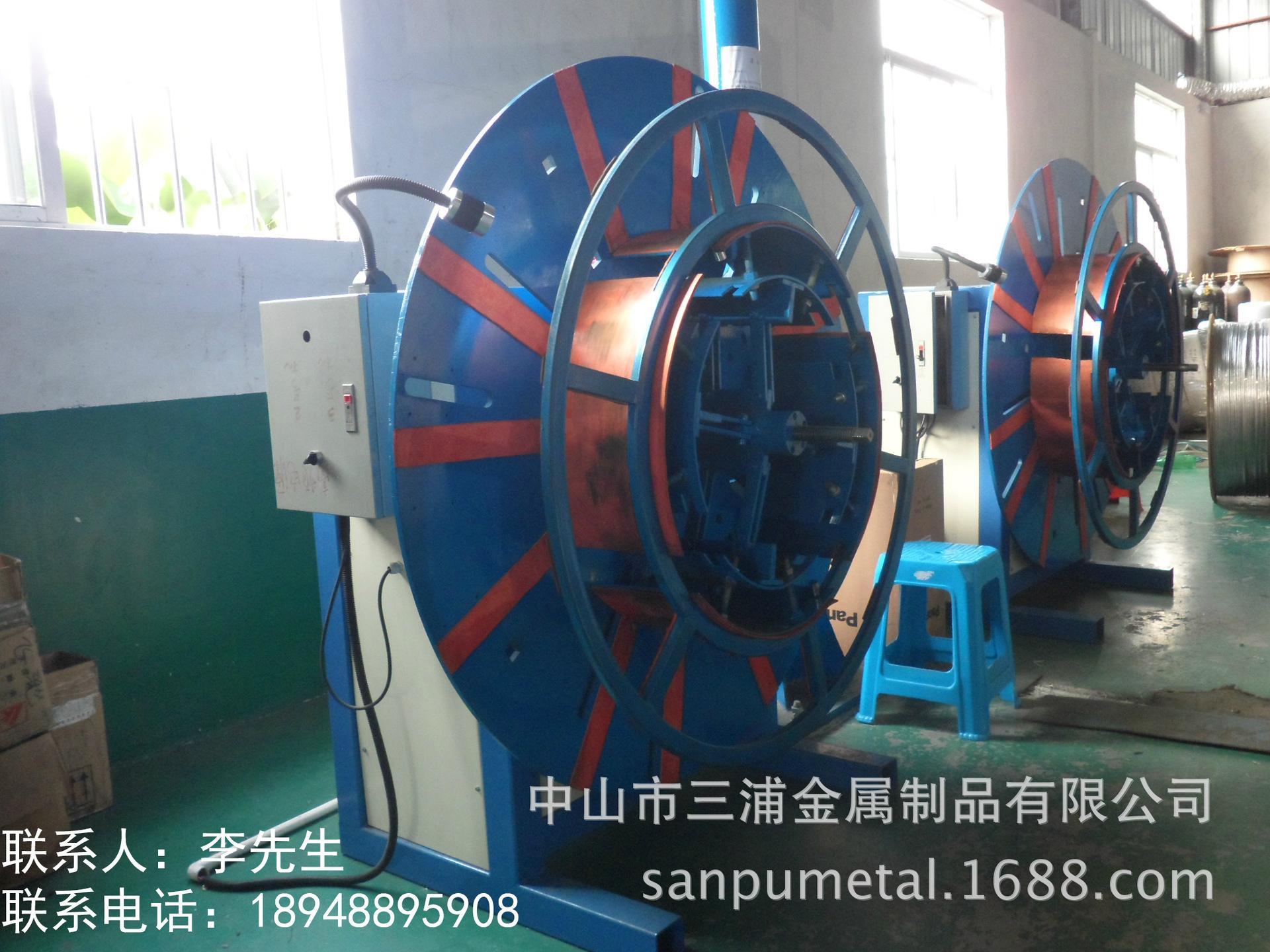 供應不鏽鋼盤管收卷機 值得信賴 中山三浦金屬制品公司  2