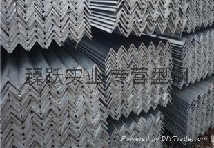 熱鍍鋅角鋼 等邊角鋼冷熱鍍鋅三角鐵上海廠家50*50*5 2