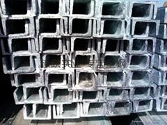熱鍍鋅槽鋼 鍍鋅U型槽鋼 天津幕牆工程 8# 10#
