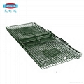 Collapsible Fox Dog Trap Cage With Two