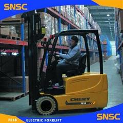 1.8 ton Three Wheel Electric Forklift 1.8T