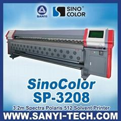 SINOCLOR Spectra Polaris 512 15pl Head Solvent Printer