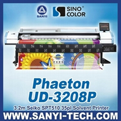 UD3208P Large Format Outdoor Solvent Printer