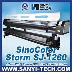 SinoColor SJ-1260 --- Digital Printer (Eco Solvent Based)