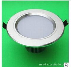 LED大功率防霧筒燈