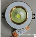 高亮度压铸3W COB筒灯