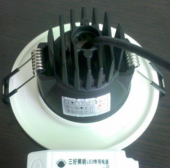 高亮度壓鑄3W COB筒燈 2