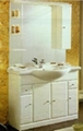 mirror cabinet with basin