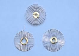 Hairsprings for gauges, oven, washing machine, etc. 1