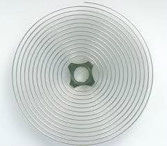 Hairsprings for gauges, oven, washing machine, etc. 2