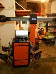 轮胎店专用智能3D四轮定位器