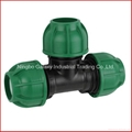 Fast Assenbling PE Elbow for D32 Equal