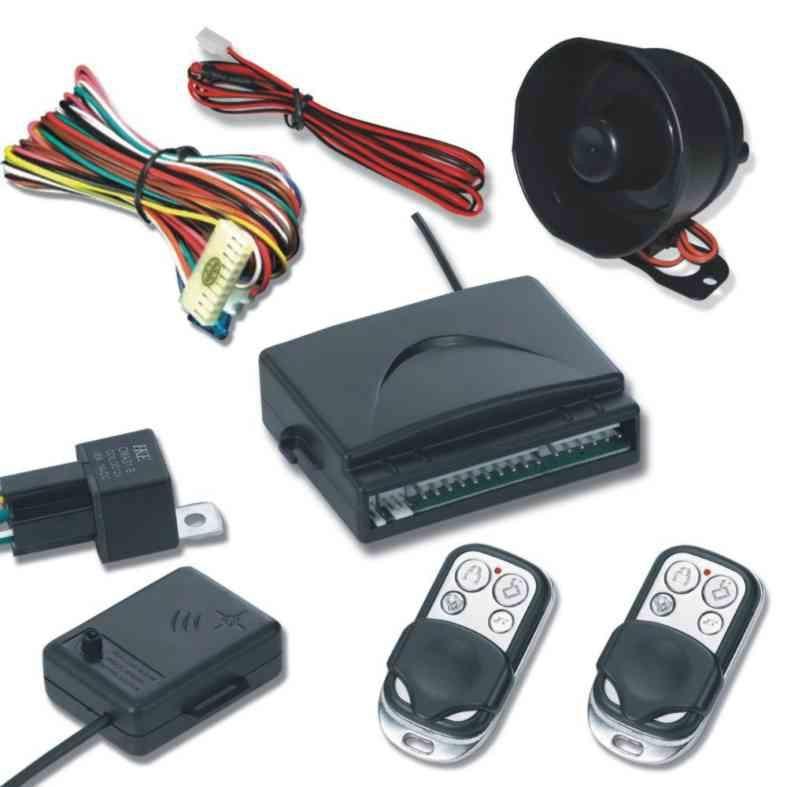 Basic One Way Car Alarm System 1