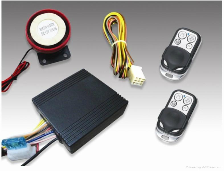 One Way Waterproof Motorcycle Alarm System 1