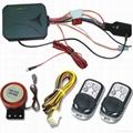 One Way Waterproof Motorcycle Alarm System 2