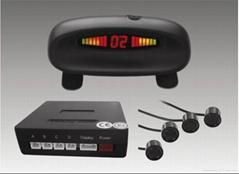 Car LED Parking Sensor System