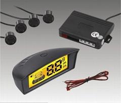 Car LCD Parking Sensor System