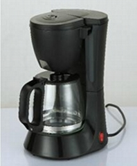 4 Cup Drip Coffee Maker With Glass Pot