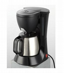 4 Cup Drip Coffee Maker With Stainless Steel Pot