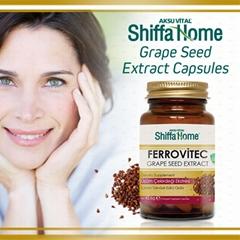 Grape Seed Oil Ferrovitec Health Food Supplement