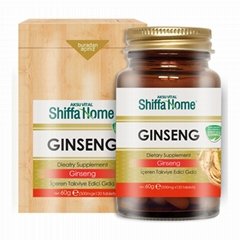 Ginseng Capsule Nutritional Supplement