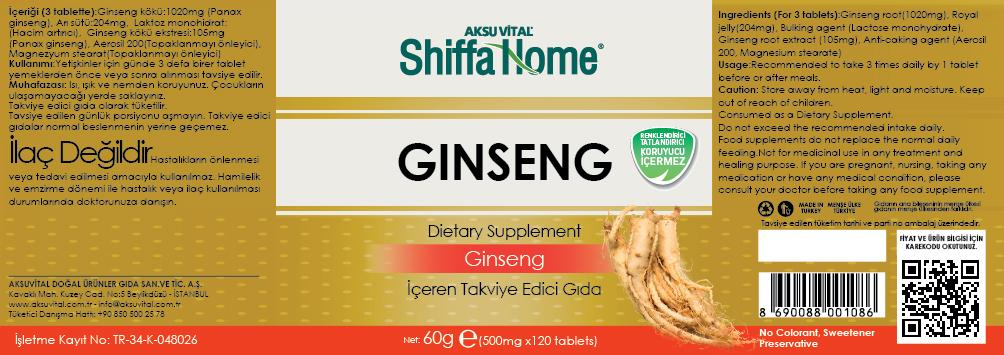 Ginseng Capsule Nutritional Supplement 3