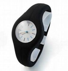 Anion Silicone Wristwatch