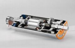 TM216 baggage conveyor systems drum motors