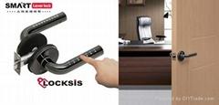 DIY electronic keyless digital door lock Smart Lever Lock