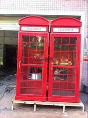 复古电话亭